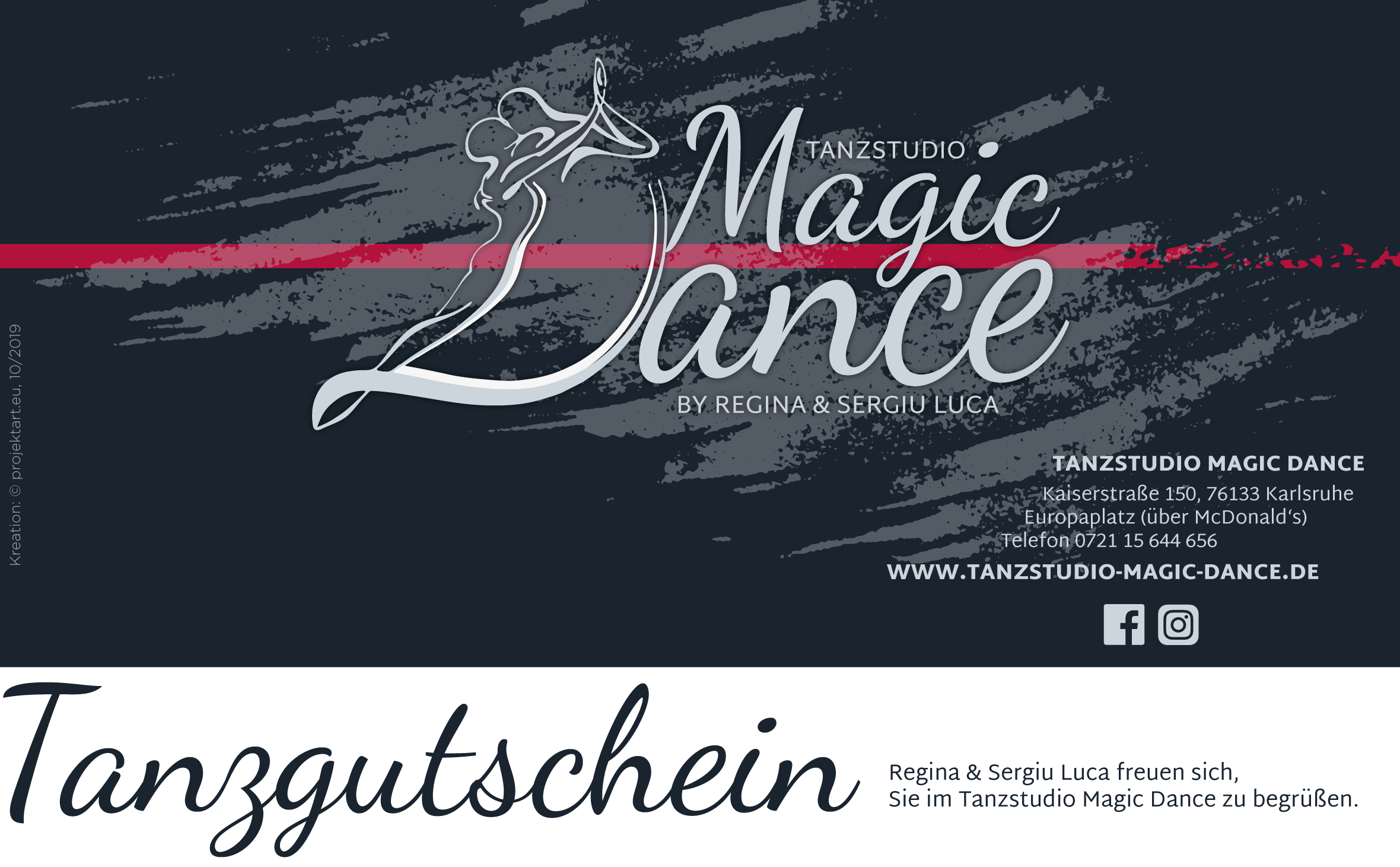 Gutschein - Magic Dance